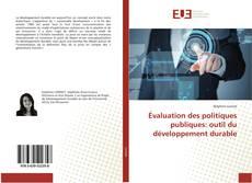 Bookcover of Évaluation des politiques publiques: outil du développement durable