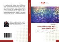 Couverture de Phénoménologie de la commémoration