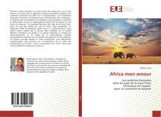 Africa mon amour kitap kapağı