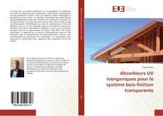 Portada del libro de Absorbeurs UV inorganiques pour le système bois-finition transparente