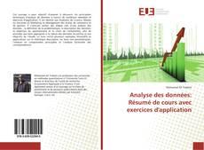 Borítókép a  Analyse des données: Résumé de cours avec exercices d'application - hoz