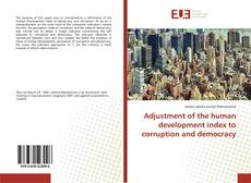 Portada del libro de Adjustment of the human development index to corruption and democracy