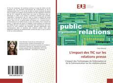 L'impact des TIC sur les relations presse的封面