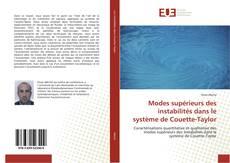 Buchcover von Modes supérieurs des instabilités dans le système de Couette-Taylor