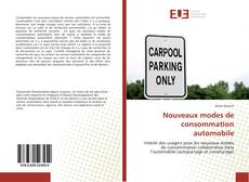 Buchcover von Nouveaux modes de consommation automobile