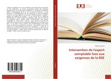 Copertina di Intervention de l'expert comptable face aux exigences de la RSE