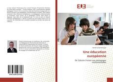 Copertina di Une éducation européenne