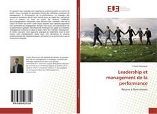 Portada del libro de Leadership et management de la performance