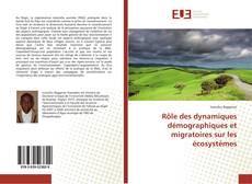 Couverture de Rôle des dynamiques démographiques et migratoires sur les écosystèmes