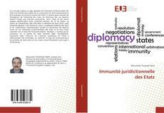 Copertina di Immunité juridictionnelle des Etats