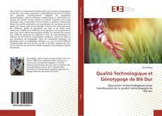 Copertina di Qualité Technologique et Génotypage de Blé Dur