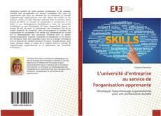 L'université d'entreprise au service de l'organisation apprenante的封面