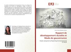Portada del libro de Rapport de développement durable et Mode de gouvernance