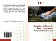 Обложка Evaluation de la qualité d'une eau de source