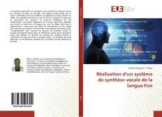 Bookcover of Réalisation d'un système de synthèse vocale de la langue Fon