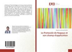 Portada del libro de Le Protocole de Nagoya et son champ d'application