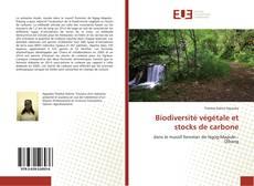 Couverture de Biodiversité végétale et stocks de carbone