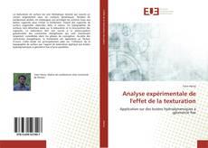 Analyse expérimentale de l'effet de la texturation的封面