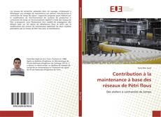 Bookcover of Contribution à la maintenance à base des réseaux de Pétri flous