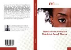 Bookcover of Identité noire: de Nelson Mandela à Barack Obama