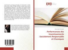 Performances des Investissements Socialement Responsable et Classiques kitap kapağı