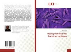 Capa do livro de Hydrophobicité des bactéries lactiques