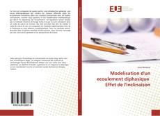 Обложка Modelisation d'un ecoulement diphasique Effet de l'inclinaison
