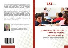 Capa do livro de Intervention éducative et difficultés d'ordre comportemental