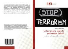 Borítókép a  Le terrorisme selon le professeur Falloul - hoz