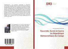 Couverture de Pauvreté, Santé et Genre en République Démocratique du Congo