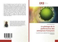 Portada del libro de Le pilotage de la performance des entreprises françaises