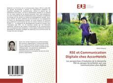 Portada del libro de RSE et Communication Digitale chez AccorHotels