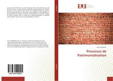 Borítókép a  Processus de Patrimonialisation - hoz