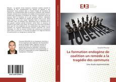 Bookcover of La formation endogène de coalition un remède a la tragédie des communs