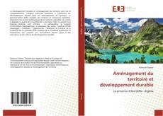Bookcover of Aménagement du territoire et développement durable
