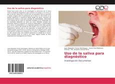 Bookcover of Uso de la saliva para diagnóstico