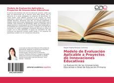 Borítókép a  Modelo de Evaluación Aplicable a Proyectos de Innovaciones Educativas - hoz