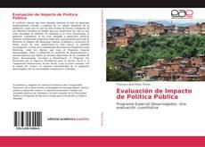 Portada del libro de Evaluación de Impacto de Política Pública