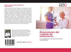 Portada del libro de Dimensiones del cuidado de enfermería: