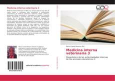 Portada del libro de Medicina interna veterinaria 3
