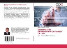 Portada del libro de Sistemas de Información Gerencial (S.I.G)