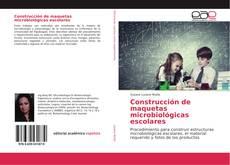 Construcción de maquetas microbiológicas escolares kitap kapağı