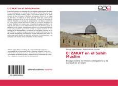 Portada del libro de El ZAKAT en el Sahih Muslim