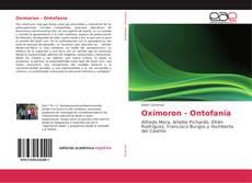 Capa do livro de Oxímoron - Ontofanía