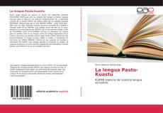 Portada del libro de La lengua Pasto-Kuastu