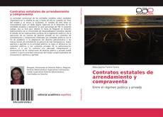 Buchcover von Contratos estatales de arrendamiento y compraventa
