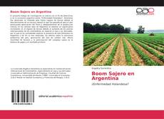 Bookcover of Boom Sojero en Argentina