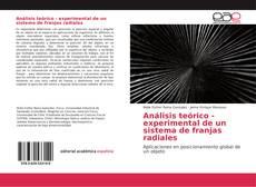 Couverture de Análisis teórico - experimental de un sistema de franjas radiales