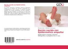 Portada del libro de Recién nacido con Epidermolisis ampollar