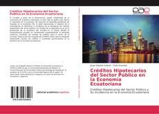 Capa do livro de Créditos Hipotecarios del Sector Público en la Economía Ecuatoriana